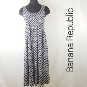 Banana Republic M  Midi Dress 3197
